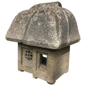 "Japanese Antique ""Mountain House "" Stone Lantern"