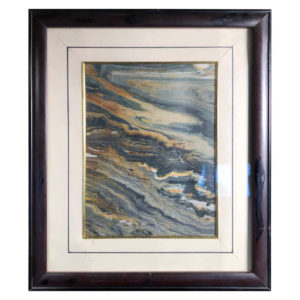 "Vibrant Natural Stone ""Swirling Peaks"""