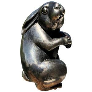 Japan Special Antique Sterling Silver Rabbit Usagi