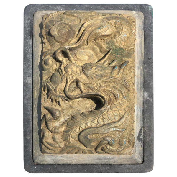 Japanese Flying Dragon Ink Stone
