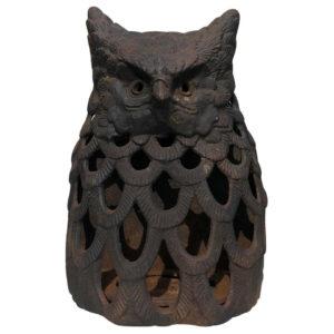 Owl Motif Wall Lantern