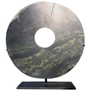 Ancient Chinese Round Jade Bi Disc, 2000 BCE