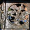 Tea House Bronze Birds & Dragonflies Garden Lantern