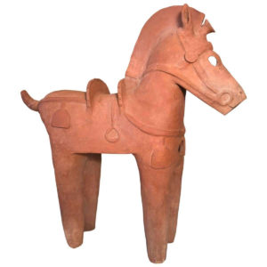 Large Ancient Japanese Tall Elite Horse, Kofun Period 593-710 AD
