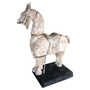 Chinese Ancient Hand Carved Horse