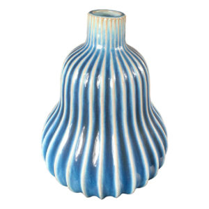 Japanese Antique Blue and White Gourd Vase