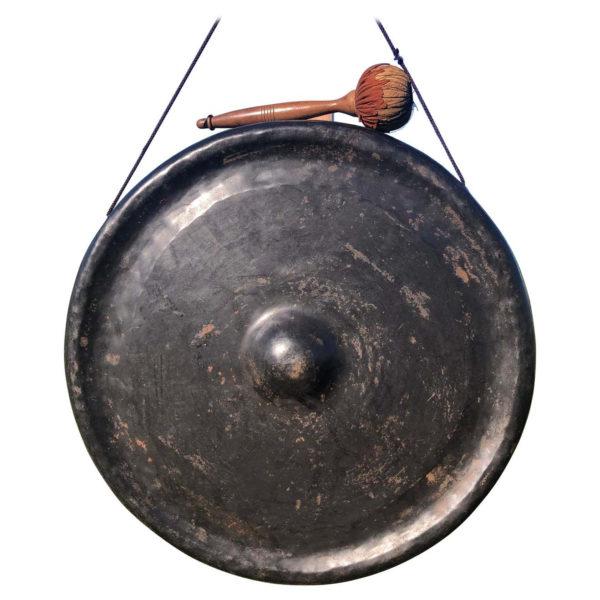 Japanese Antique Bronze Gong