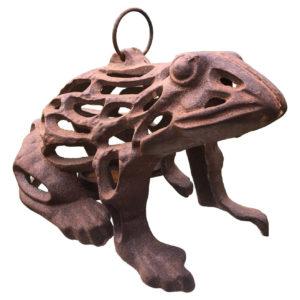 """Japanese Old """"Frog"""" Lighting Lantern"""