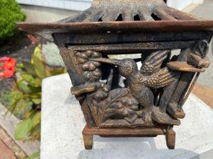 """Japanese Antique """"Humming Bird"""" Lantern"""