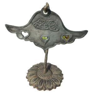 Japanese Antique Bronze Buddhist Cloud Bell Chime Unban