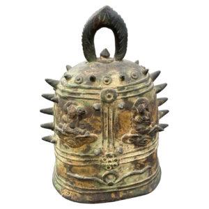 Fine Antique Gilt Bronze Buddha Bell